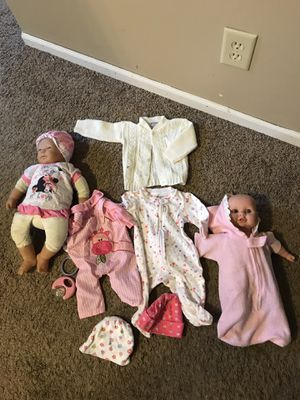 Baby Dolls and some accessories for Sale in Saint Paul, MN