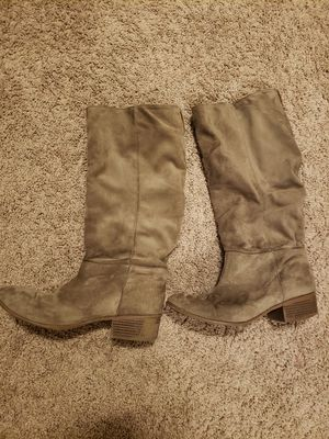 Womens light brown suede boots for Sale in Beaverton, OR