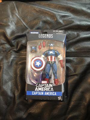 Captain America marvel legends figure line 22.00 for Sale in Arlington, MA