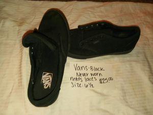 Vans black converse for Sale in Phenix City, AL