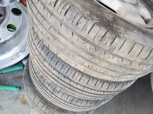 Tires 90% live 185/70R14 for Sale in Moreno Valley, CA