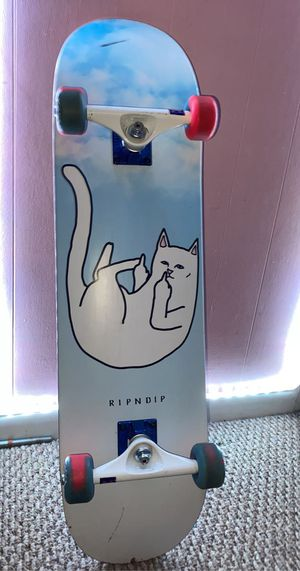 Ripndip skateboard for Sale in Stokesdale, NC