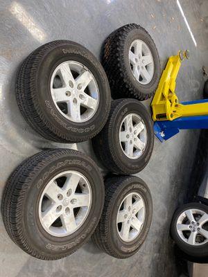 Jeep Wrangler 2015 Rims and Tires for Sale in Ashburn, VA