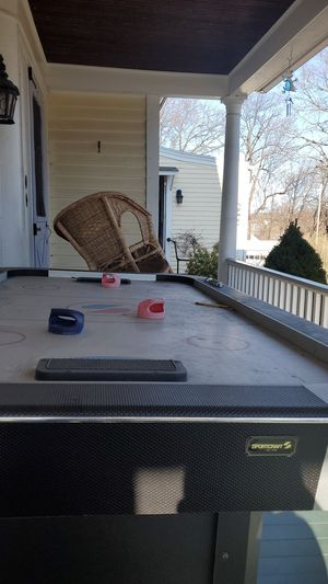 Big air hockey table willing to trade for Nintendo swich for Sale in Leominster, MA
