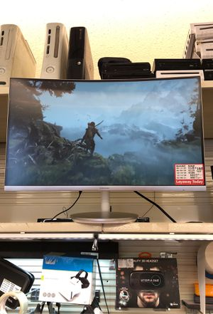 "Samsung 24"" Curved Monitor for Sale in Aurora, CO"