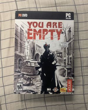You are empty pc game for Sale in Lewiston, ID