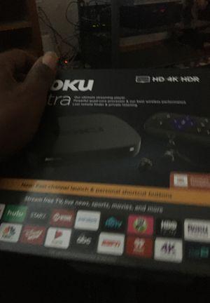 New Roku ultra HD 4K HDR for Sale in Seattle, WA