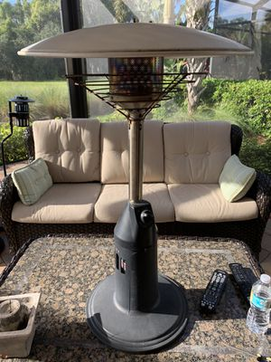 Gas Patio Heater With New Gas Bottle for Sale in Bradenton, FL