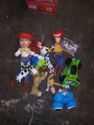 Toy story 1&2 action figures for Sale in Rio Linda, CA