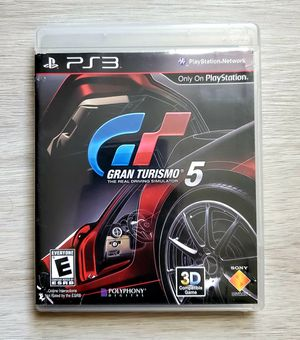 GRAN TURISMO 5 XL EDITION Racing Game Complete w/ Manual Sony Playstation 3 PS3 for Sale in VLG WELLINGTN, FL