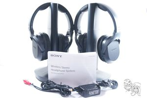 Lot of 2 Sony - RF400 Wireless Home Theater Headphones (READ FIRST) 👍🎧 for Sale in Rancho Cucamonga, CA