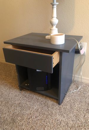 Grey/Blue Night stand for Sale in Amarillo, TX