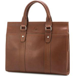 Leather Briefcase by Jason Gerald Leather Laptop Bag Premium Messenger Bag 7179 for Sale in Las Vegas, NV