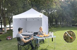 Brand New White 10x10 Easy Pop up Canopy Tent Package Awning for Sale in Austin, TX
