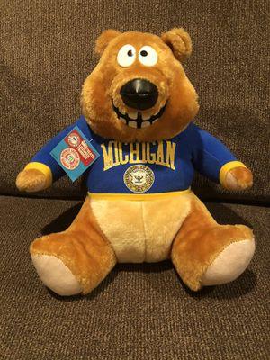 University of Michigan Teddy Bear for Sale in Clifton, VA