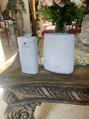 Orbi RBR20 Modem Router for Sale in Fresno, CA