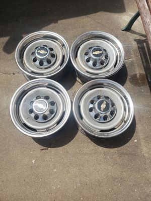 "Rims steel,8 lug GMC Chevy 16""$100. for Sale in Fayetteville, AR"