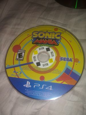 Sonic Mania Plus PS4 (disc only) for Sale in Riverview, FL