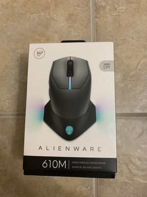 Alienware Wired/Wireless Gaming Mouse AW610M: 16000 DPI Optical Sensor - 350 Hour Rechargeable Battery Life - 7 Buttons - 3-ZONE Alienfx RGB Lighting for Sale in Orlando, FL