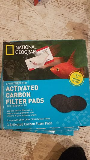 National Geographic activated carbon filter pads for Sale in Cincinnati, OH