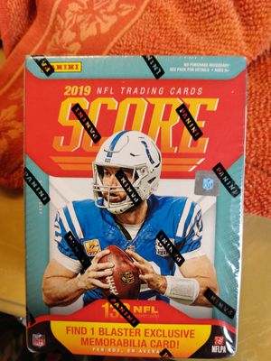 2019 NFL Panini Score Football Blaster Box for Sale in Tomball, TX