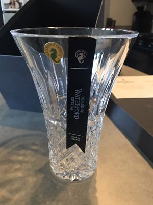 Certified Waterford Crystal Vase (Mother's Day Gift!) for Sale in Alexandria, VA