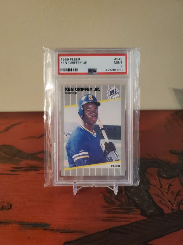 1989 Fleer MINT Ken Griffey Jr rookie card