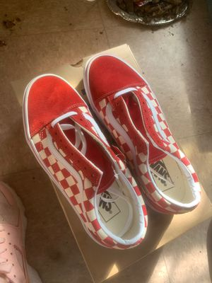 Vans red for Sale in Chicago, IL