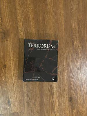 Terrorism - An Investigator's Handbook for Sale in Boston, MA