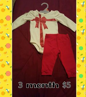 Baby party clothes 3m for Sale in West Palm Beach, FL