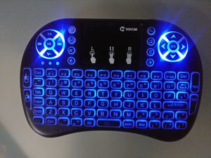 Backlit Color-Changing Wireless Keypad Touchpad Air Mouse for PC Android TV Box/ Firestick / Computer/ Game/ Hd / XBOX / Car for Sale in Sanford, FL