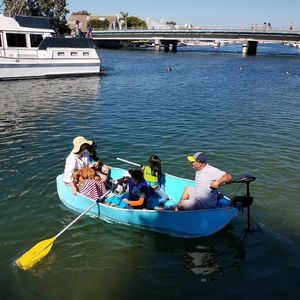 Porta-Bote II with trolling motor for Sale in Garden Grove, CA