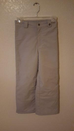 Obermeyer Hydro Blok kids snow pants size 8 Gray for Sale in Everett, WA