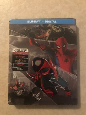 Spider-Man limited edition steelbook for Sale in Los Angeles, CA