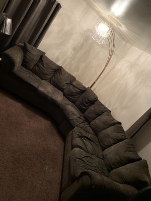 Nice sectional couch for Sale in Penns Grove, NJ