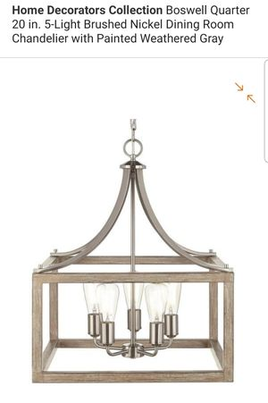 5 light chandelier for Sale in Bakersfield, CA