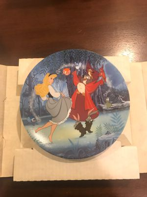 Disney Treasured Moment Sleeping Beauty Plate for Sale in Maitland, FL