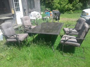 out door patio furniture for Sale in Somerset, WI