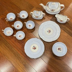 1930s Copeland Grosvenor China Made In England Tea And Dessert Set for Sale in Rockville, MD