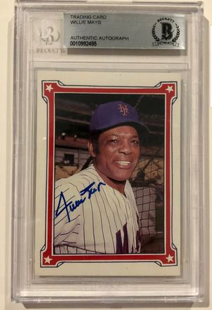 Willie Mays autograph for Sale in Baldwin Park, CA