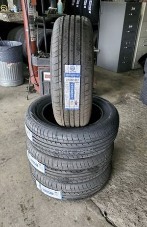 215/65/17 new tires for $320 with balance and installation we also finance {contact info removed} Dorian 7637 airline dr houston TX 77037 for Sale in Houston, TX