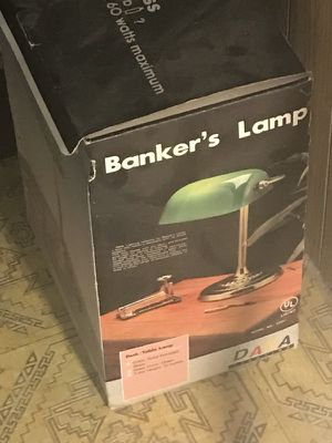 Bankers Lamp: Brand new for Sale in Pittsburgh, PA