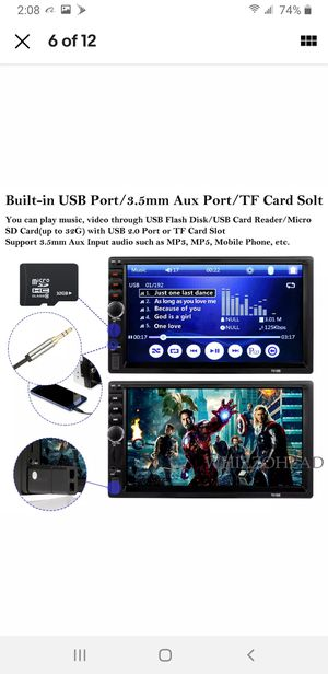 Car stereo / radio 7 inch screen bluetooth for Sale in Las Vegas, NV