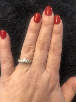 Certified Diamond Engagement Ring, Diamond Wedding Band and Anniversary Band for Sale in Pataskala, OH