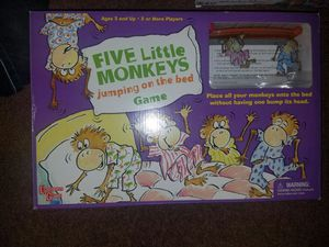 Five Little Monkeys Jumping on the Bed board game for Sale in Westminster, CO