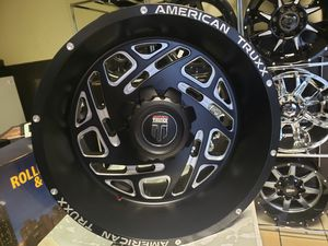 20x10 america truxx with tires {link removed} M/T dodge ram jeep wrangler for Sale in Mableton, GA