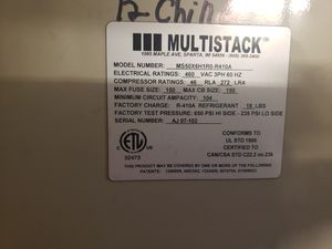 Like new. Only 27 hrs on it chiller multi stat, make an offer great for wearhouse or commercial use for Sale in Brooklyn, NY
