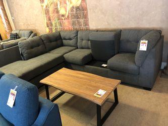 Ashley gray sleeper sectional sofa on sale for Sale in Phoenix,  AZ