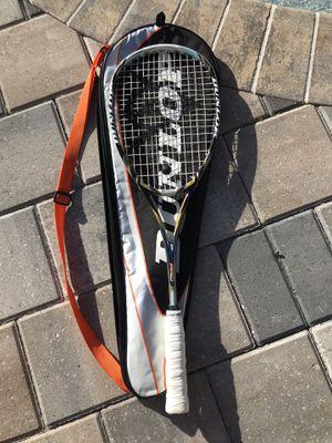 Dunlop AeroGel Pro Squash Racquet With bag for Sale in Merritt Island, FL