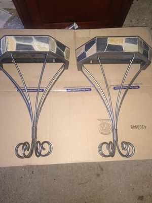 Pier One wall sconce shelves for Sale in Wheeling, IL